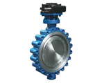 Three Eccentric Metal Seal Butterfly Valve